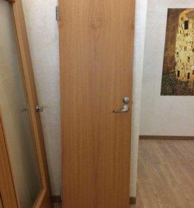 Дверь глухая