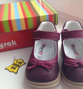 туфли для девочки раз 22 (14,5см)