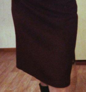 Шерстяная юбка S/M