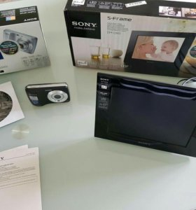 Sony DSC-S3000 И цифровая фоторамка