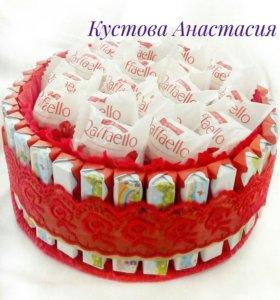 Тортик со сладостями №3