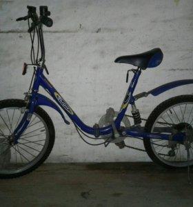 Велосипед 7-12 лет