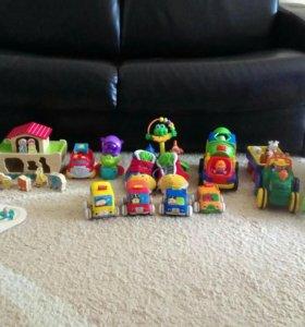 Игрушки Elc, Ks. Kids, Kiddieland,Fisher priece