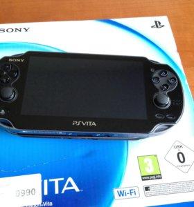 PS Vita Wi-Fi + 2 игры