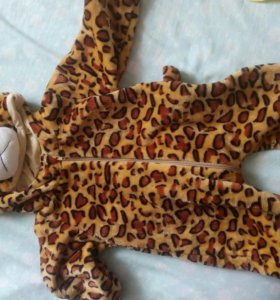 Комбинезон леопард