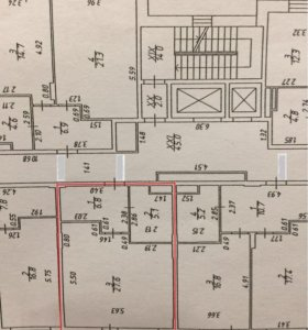 Квартира, студия, 39.5 м²