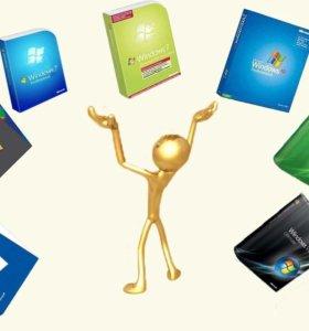 Установка виндовс / линукс Windows/Linux и многое