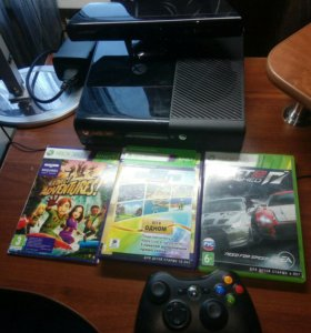 Xbox 360 4GB + Kinect Adventures, Kinect Sports