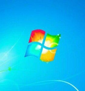 Установка ОС Windows, программ (платных и без пл.)