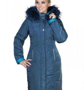 Зимнее пальто - пуховик новое  размер 50