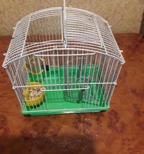 Клетка (колесо, домик) для хомячка