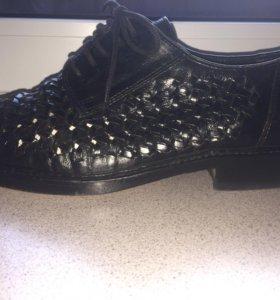 Туфли кожаные SIOUX