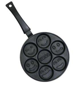 Сковорода со смайлами!!!