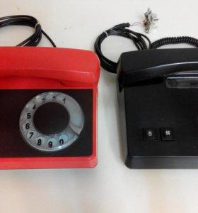 Телефонный аппарат дисковый Tesla, VEF