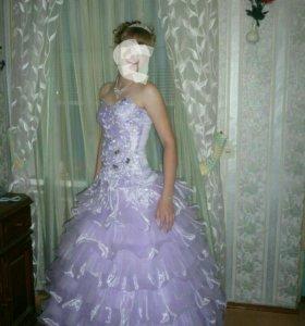 Вечернее бальное платье