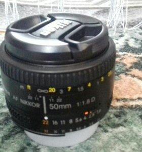 Обьектив Nikon 50m
