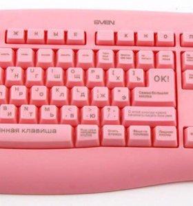 Клавиатура для блондинок. Новая