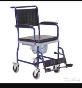 Кресло коляска туалет