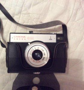Фотоаппарат с чехлом пленочный