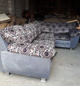 мягкий уголок +кресло