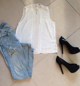 Женственная блуза Xs