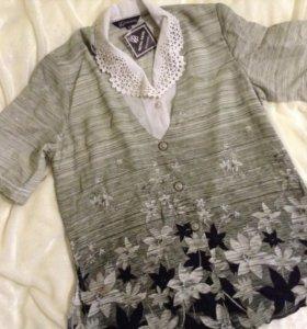 Блузка новая 58 размер