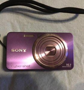 Фотоаппарат Sony Cyber-shot DSC-W630 фиолетовый