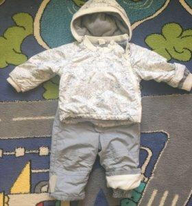 Демисезонный костюм 74-80 размер