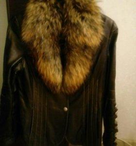 Куртка кожа, М