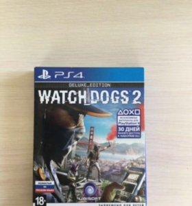 Watch dogs 2 deluxe edition в отличном состоянии