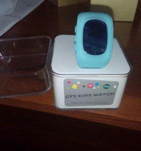 Детские смарт часы q50 с gps новые