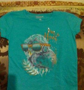 Фирменная детская футболка 10-12лет