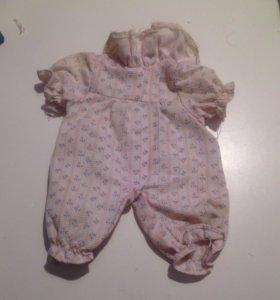 Одежда для куклы пупса