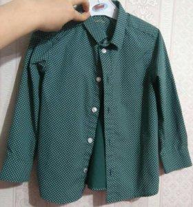 Рубашка h&m 110см