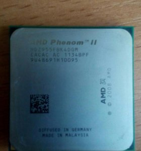 AMD Phenom II X4 Deneb 955 (AM3)