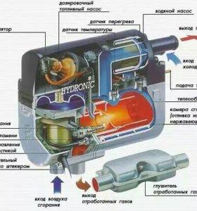 Предпусковой подогреватель двигателя hydronic D4