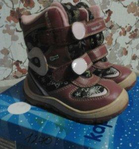 Продам зимние ботинки Капика 25р