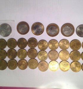Российские юбилейные монеты.