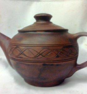 Заварочный чайник ручной работы.