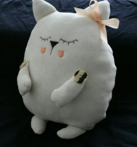 Декоративная подушка-игрушка