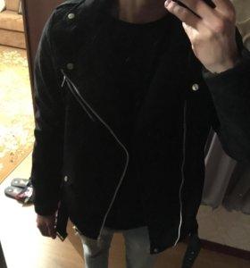 куртка косуха pull and bear