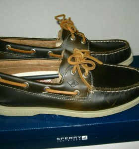 Топсайдеры SPERRY 2 Eye Waterloo boat shoes 44