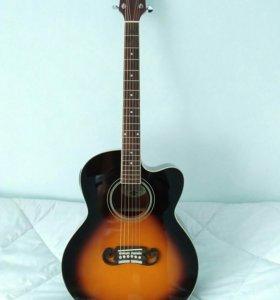 "Гитара ""Gibson"", электроакустическая."