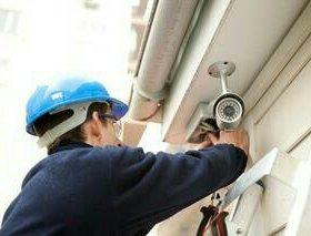 Установка систем видеонаблюдения и охранно- пожарн