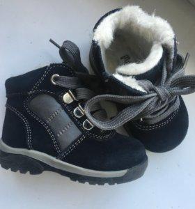 Ботинки зима 21 размер как новые