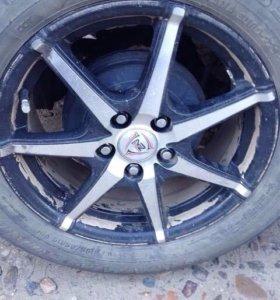 Колеса на литье 5х100