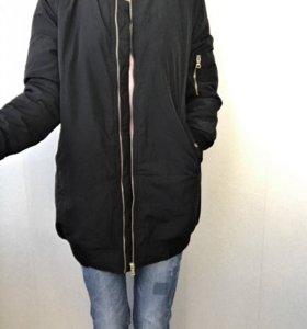 Новая женская удлиненная куртка