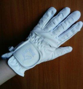 Конный спорт. Перчатки для соревнований Tattini