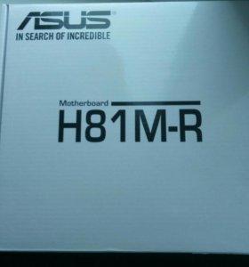 Материнская плата Asus H81M-R