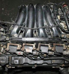 Двигатель 4G93 GDI 1.8 НА ЗАПЧАСТИ с навесным